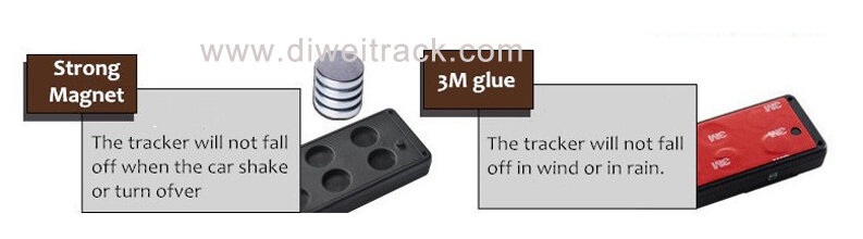 PT26 magnetic gps tracker free Magnetic installation