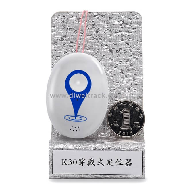 K30 Wifi GPS Tracker WIFI GPS LBS three tracking mode mini size for the senior