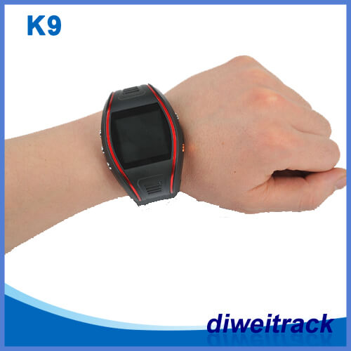 Personal and Convenient GPS Tracker equipment K9