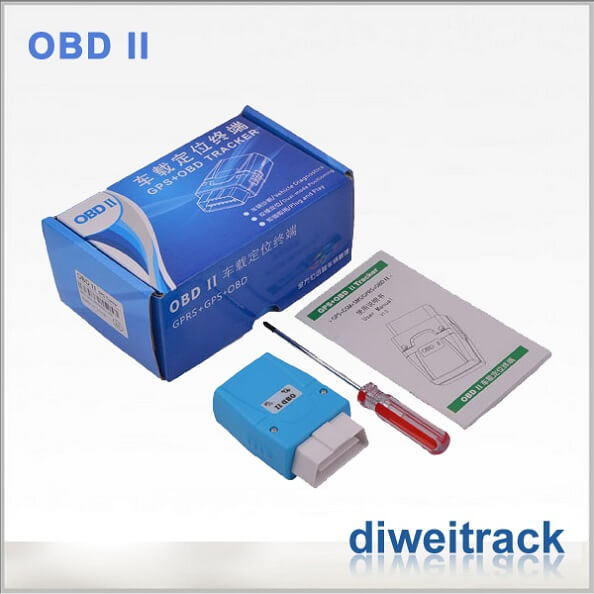 Absorbing OBD II Diagnostic Tracking System