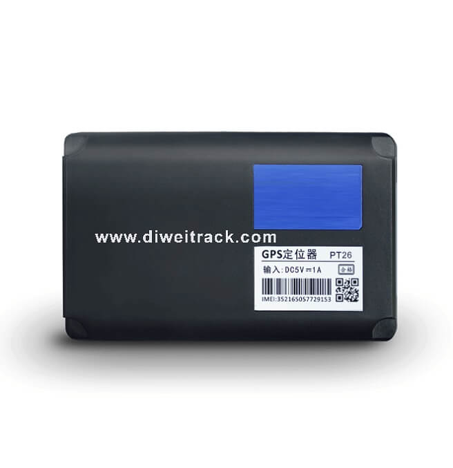 PT26 Compact Portable GPS Tracking Device & Magnetic Weatherproof Case
