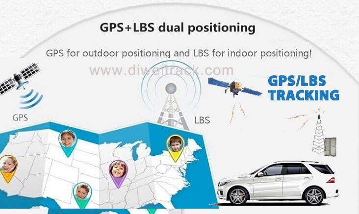 PT26 magnetic gps tracker for car GPS+LBS dual tracking model support A-GPS