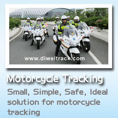 Motor scooter GPS tracker Quad bands and shut off engine