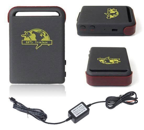 quad band mini gps tracker tk102 gprs for personal car and. Black Bedroom Furniture Sets. Home Design Ideas