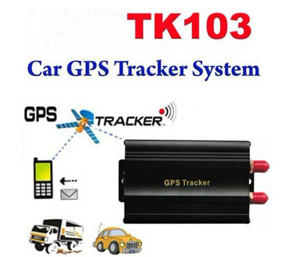 TK103 Vehicle/Car GPS tracker Car Alarm GPS 103 Quadband cut off fuel Portuguese language PC&web-based GPS tracking system