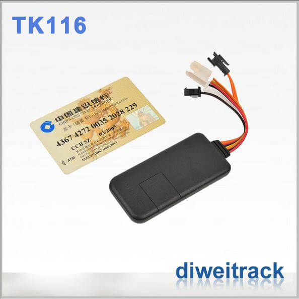 Accurate gps tracking vehicle tracker for cars TK116 model
