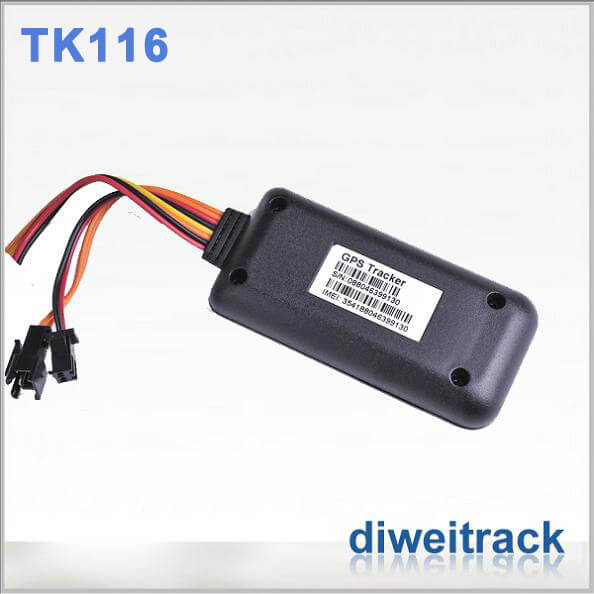 Accurate GPS Tracker For Machinery TK116 Tracking Device