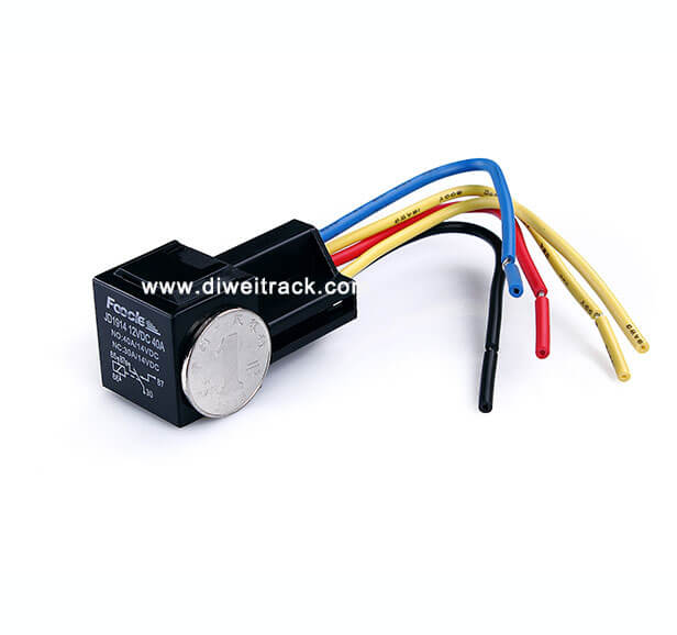 Relay cable for waterproof gps tracker TK119