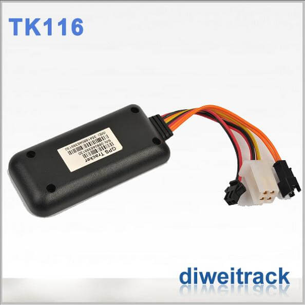 Mini Tk116 GPS Vehicle Tracking Device could change IMEI numbver with battery