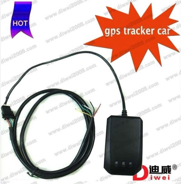 GPS car tracker TLT-2H5 with SOS button tracking by phone sms