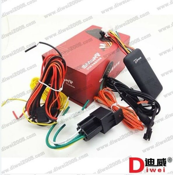 GPS vehicle Tracker GT06 Built-in vibration sensor