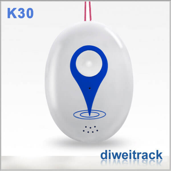 K30 Wifi GPS Tracker WIFI GPS LBS three tracking mode mini size for personal(the older, the senior, kids, chirdren), pets