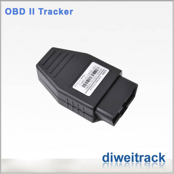 Real-Time GPS Tracking System plugs into vehicle OBD-II port