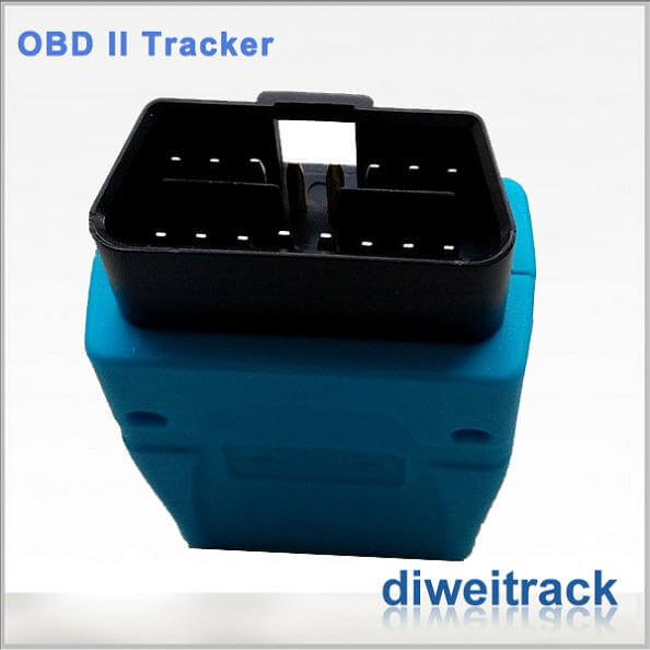 Realtime GSM GPRS GPS Tracker OBD II car gps tracking system