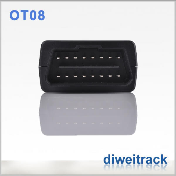Vehicle tracker with sensors obdii OT08 Plug and Play Auto GPS Tracker