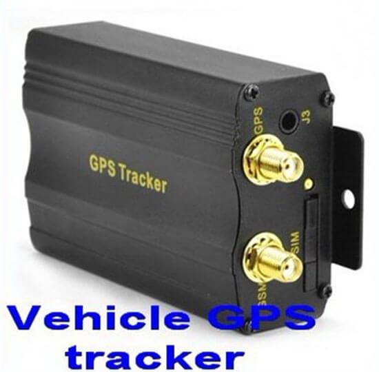 Strong signal External antenna vehicle gps tracker tk103