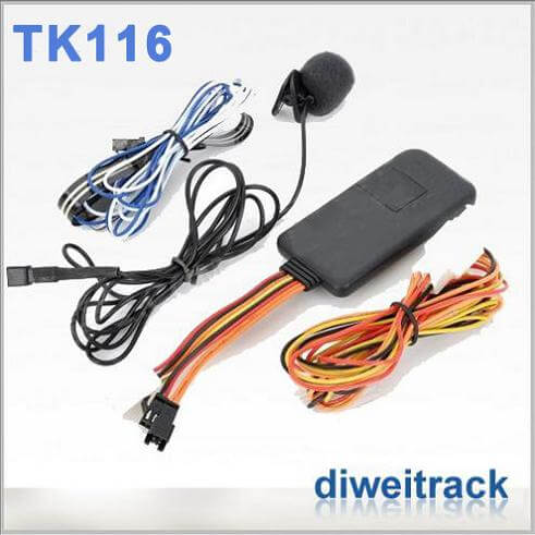 Supports ACC status checking's TK116 GPS Car tracker