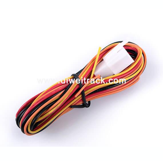 TK119 waterproof gps tracker power cord