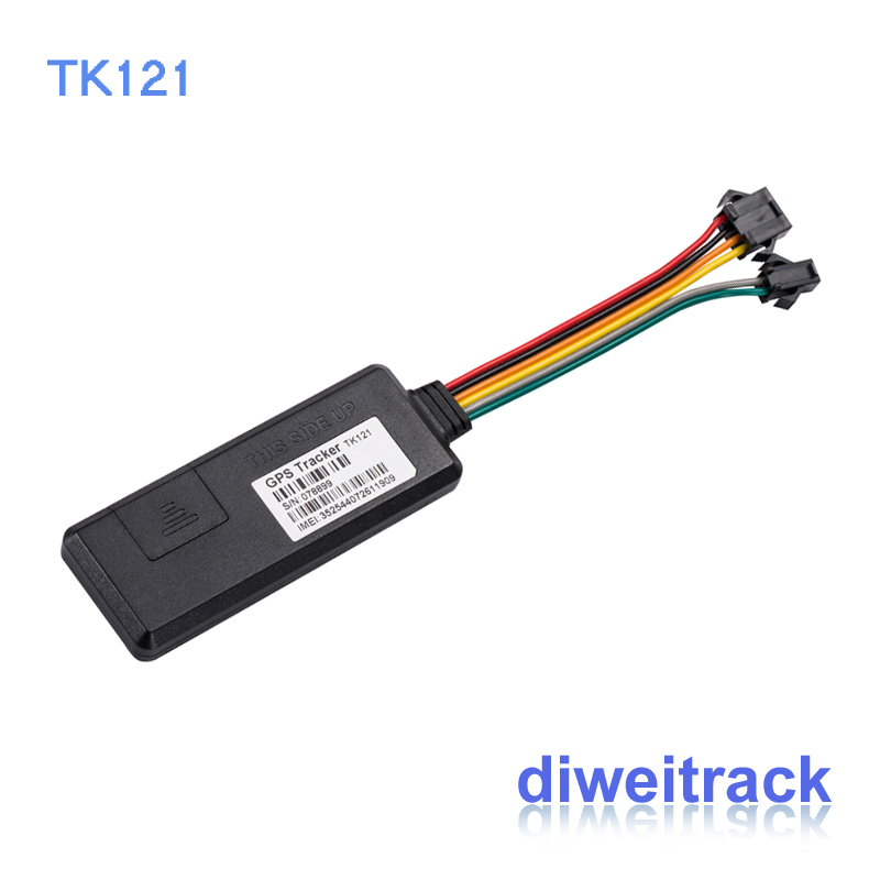 customized TK121 cheap GPS GPRS GSM tracker with sms motorcycle