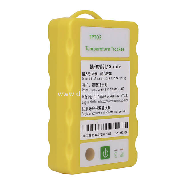 TPT02 GPS Temperature monitoring device for Medical Lab MonitoringPharmaceutical Monitoring