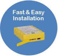 Fast&Easy Installation